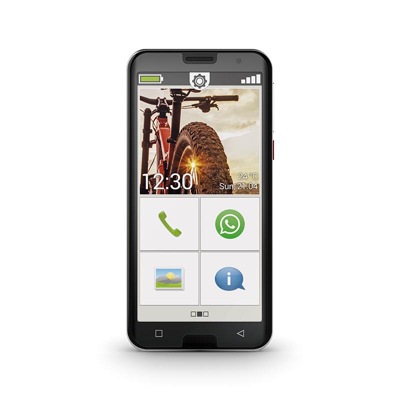 Amplicomms PowerTel M9500 Senior Smartphone Téléphone portable