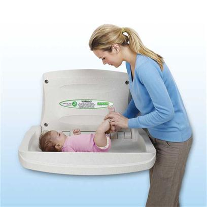 Magrini Horizontal Baby Changing Unit Sports Supports