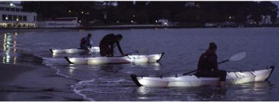 Oru Kayak Lights In Action