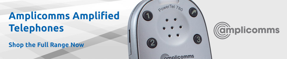 View Our Full Range of Amplicomms Amplified Telephones