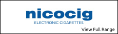 Nicocig Electronic Cigarettes and Nicocig Refills