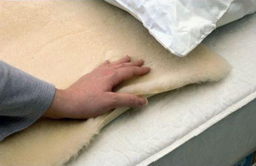 Polaire de lit de soulagement de la pression