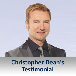 Christopher Dean Uses Kneehab XP