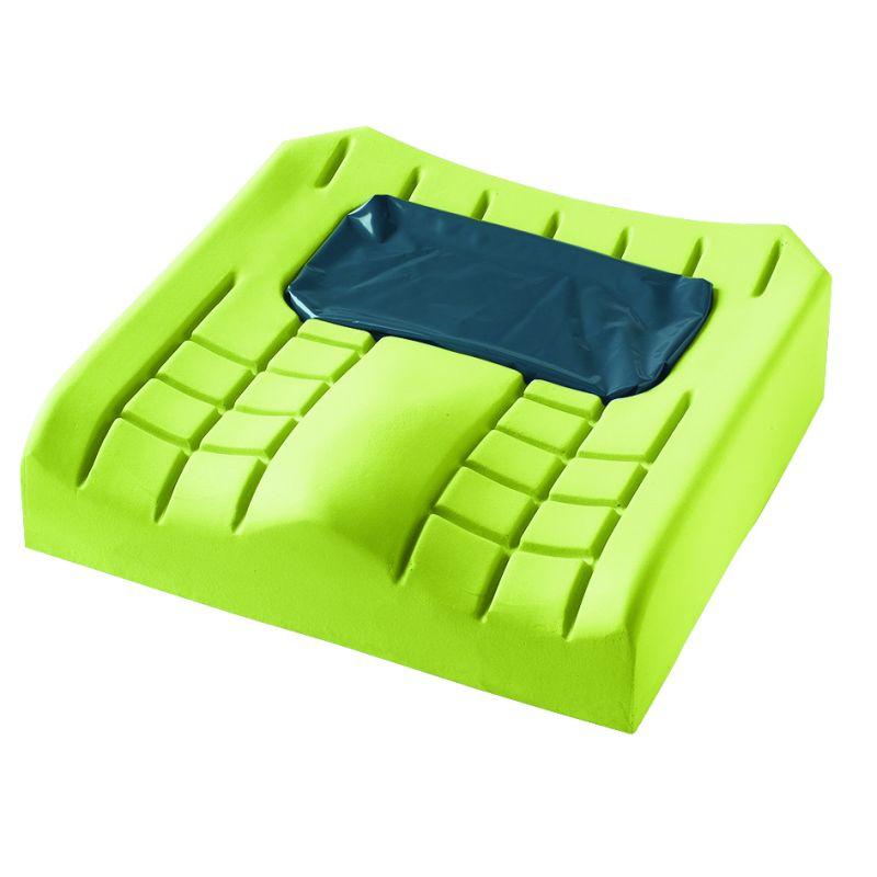 Coussin pour fauteuil roulant en mousse et gel Matrx Flo-tech Plus