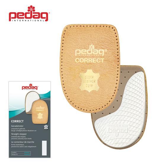 Coussinets de talon Pedag Correct pour empêcher vos chaussures de porter sur un côté