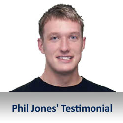 Phil Jones Kneehab Testimonial