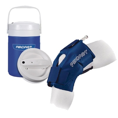 Aircast cryo knee cuff with automatic cold therapy ic for Cryo cuff ic motorized cooler