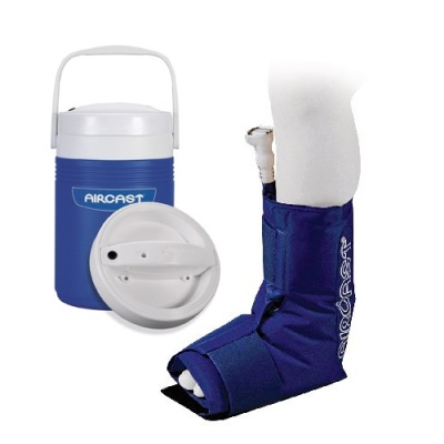 Aircast paediatric ankle cryo cuff and automatic cold for Aircast cryo cuff ic motorized and cuffs