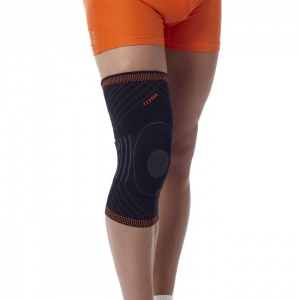 Teyder Reinforced Closed Knee Brace With Silicone