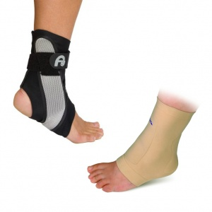 Aircast A60 Ankle Brace Comfort Pack with Silipos Gel Sleeve