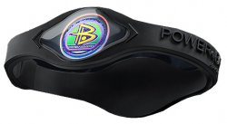 Power Balance Sports Bracelet Hologram Wristband Black