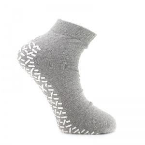 Medline Single Tread Xx Large Grey Slipper Socks Five