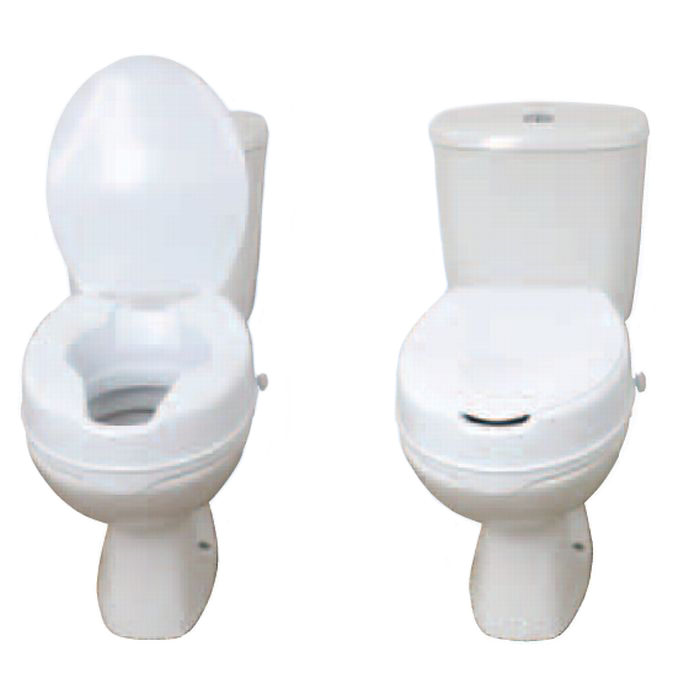 Drive Medical Raised Toilet Seat With Lid Sports Supports Mobility H