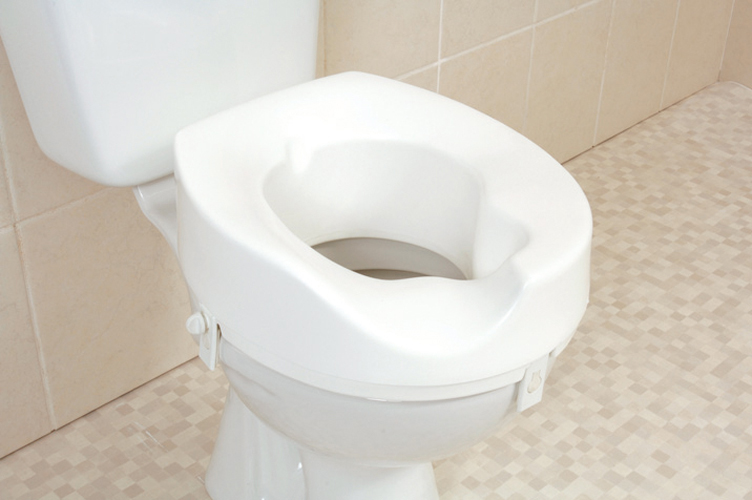 Melton Sloped Raised Toilet Seats Right Slope Sports