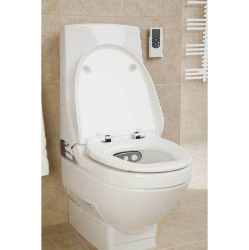 Geberit AquaClean 8000plus Care Bidet Toilet Sports Supports Mobility