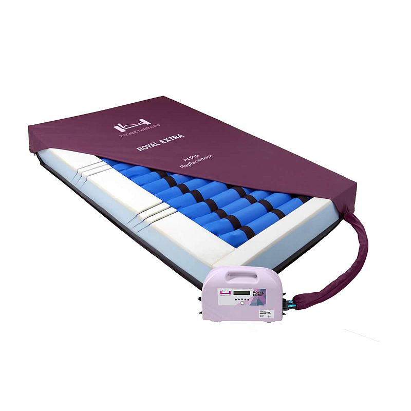 harvest royal extra bariatric pressure relief replacement alternating air mattress system