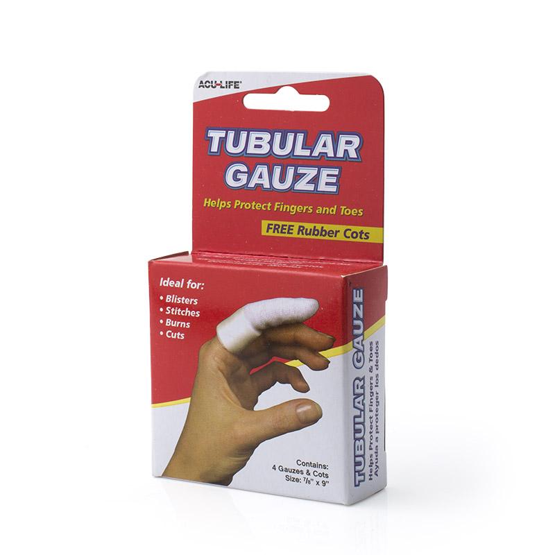 Tubular Gauze Amp Finger Cots Sports Supports Mobility