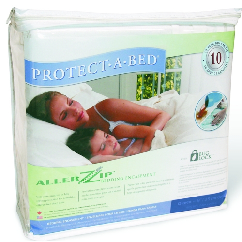 Protect A Bed Basic Waterproof Polyester Fitted Sheet