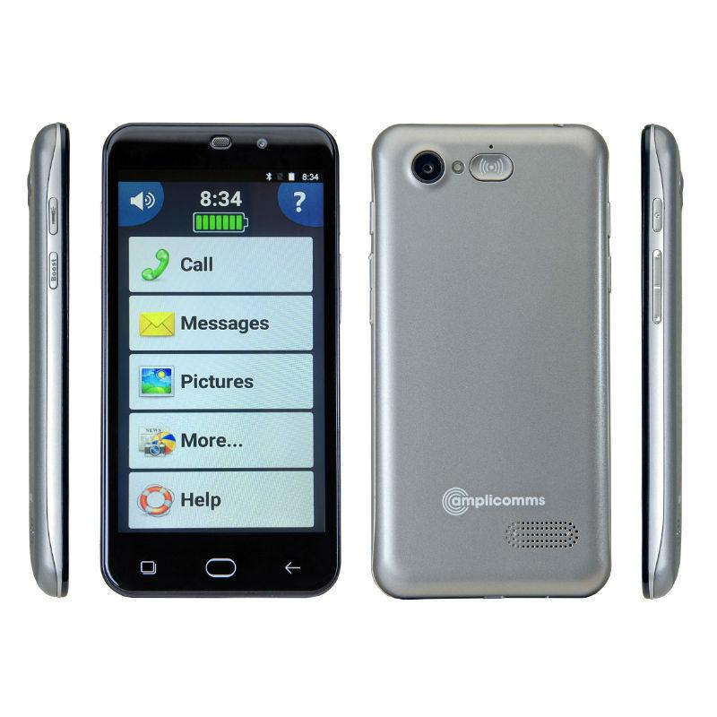 amplicomms powertel m9500 senior smartphone mobile phone. Black Bedroom Furniture Sets. Home Design Ideas