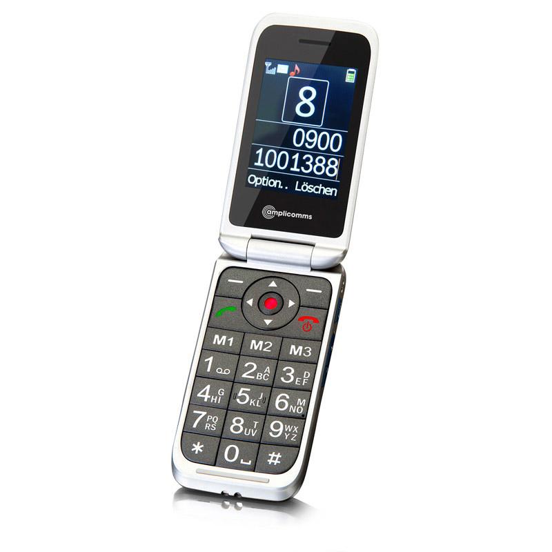 Téléphone portable amplifié Amplicomms PowerTel M7000i