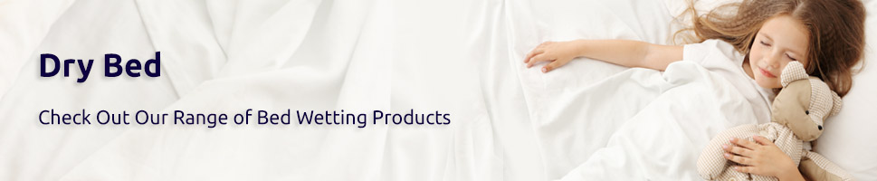 Our Full Range of Bed Wetting Products to Ensure A Dry Bed