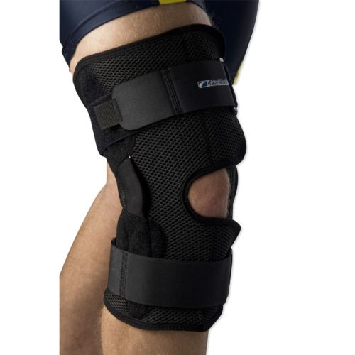 Hinged Knee Brace : Coolmesh hinged knee brace sports supports mobility