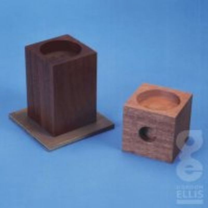 wooden cube bed raisers sports supports mobility