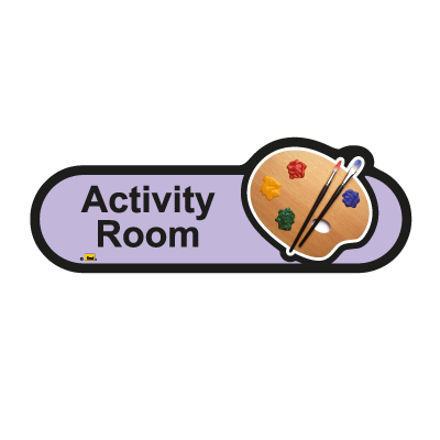 Find signage dementia activity room sign sports for Activity room