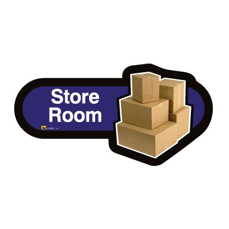 Find signage dementia store room sign sports supports for Storage room sign