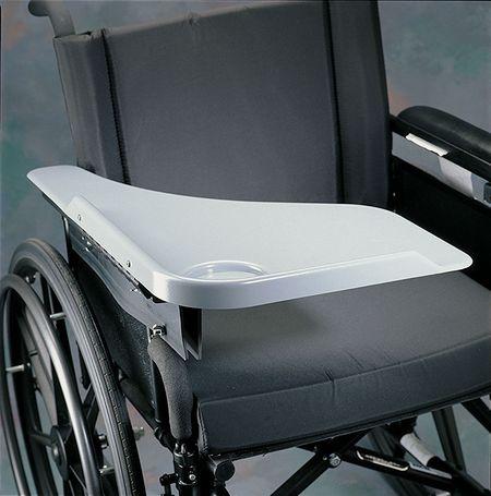 Flip Away Half Lap Wheelchair Tray Sports Supports