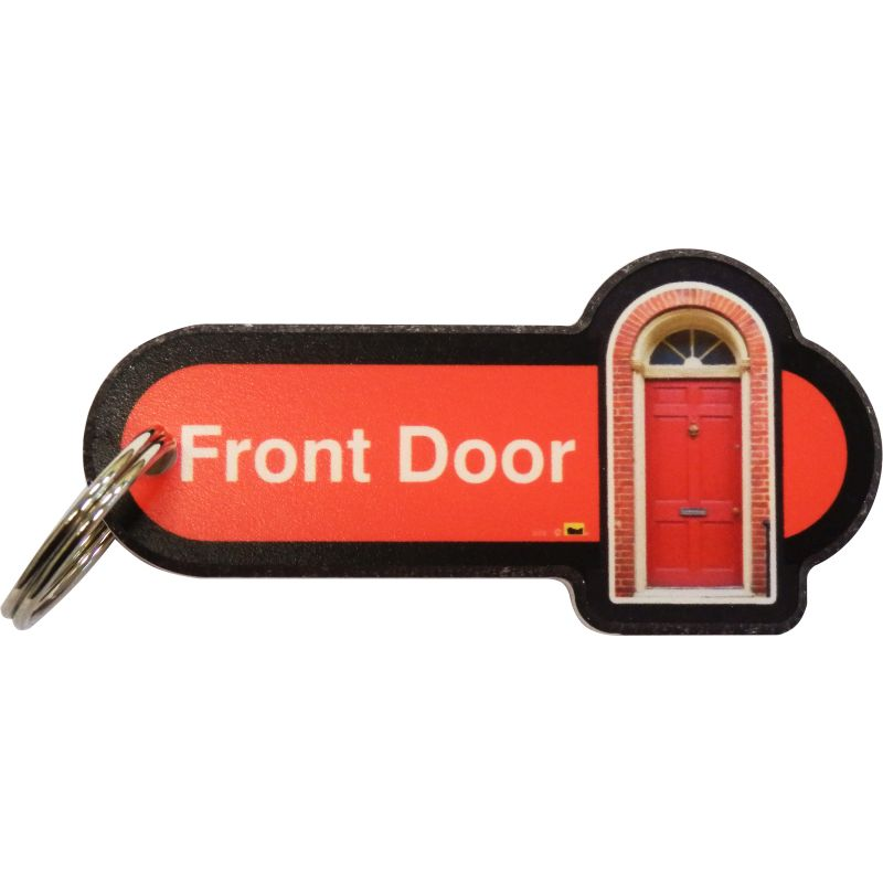 Front Door Key Fob Keyring Sports Supports Mobility