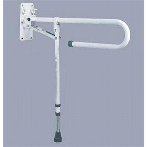 Trombone Drop Down Grab Rail With Adjustable Leg Sports