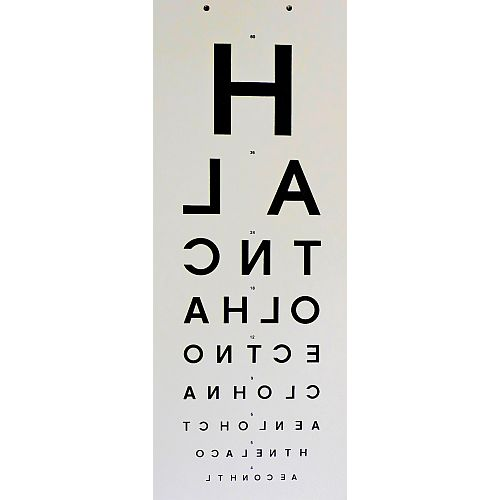 how to use snellen chart