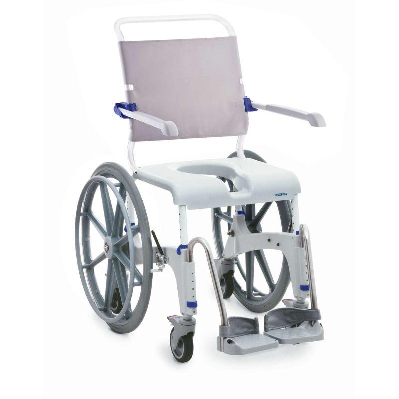 Invacare Aquatec Ocean Shower Commode Chair Xl Self Propel