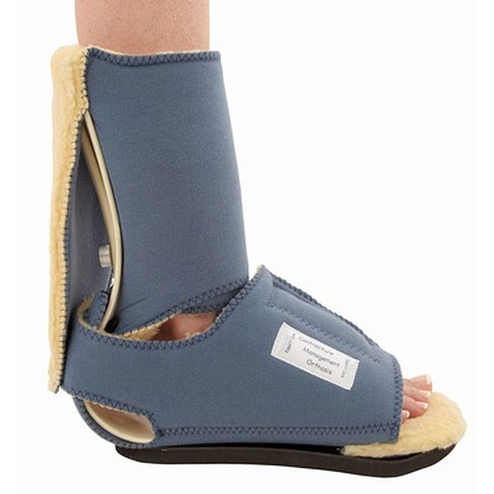 leeder ankle contracture pressure relief boot sports