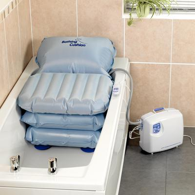 Mangar Bathing Cushion Bath Lift :: Sports Supports | Mobility ...