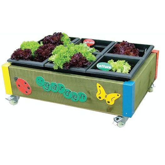 Nursery 6 Planter Garden Flower Bed Trough Sports