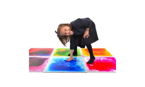 Playlearn Sensory Floor Tile Non Light Up Sports