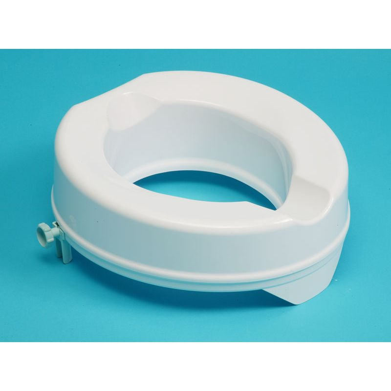 Derby Prima Super Raised Toilet Seat 4 10cm No Lid Sports Supports