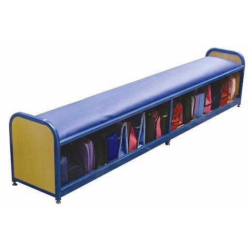 School Cloakroom Long Bench Storage Unit Sports Supports Mobility Healthcare Products