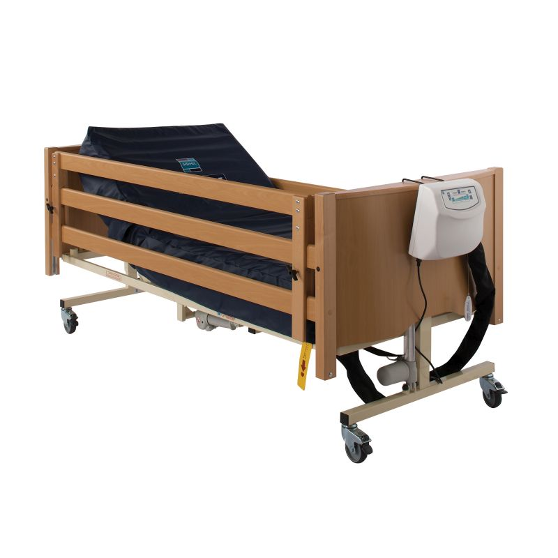 sidhil bradshaw bariatric bed side rail height extension sports supports mobility. Black Bedroom Furniture Sets. Home Design Ideas