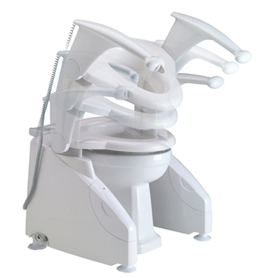 Solo Powered Toilet Lift Sports Supports Mobility