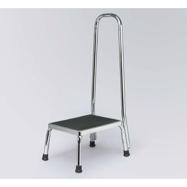 Steel Step Stool With Handrail Sports Supports