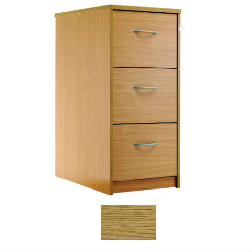 sunflower medical modern oak three drawer filing cabinet sports supports mobility. Black Bedroom Furniture Sets. Home Design Ideas