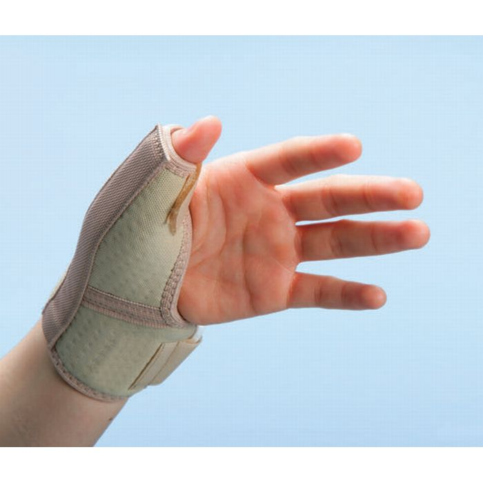 Pediatric thumb spica splint