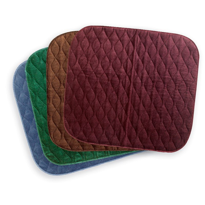Velour chair incontinence pads sports supports for Incontinence pads for chairs