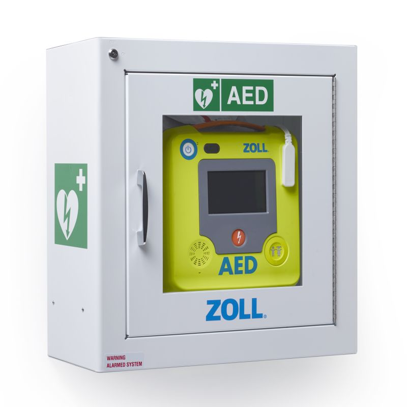 Zoll Aed 3 Defibrillator Standard Surface Wall Cabinet