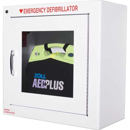 Zoll Aed Plus Defibrillator Wall Cabinet Sports