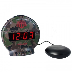 Sonic Bunker Bomb Extra Loud Alarm Clock Sports