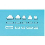 Splinting Accessories Chafe Rivets White 20mm Pk 25